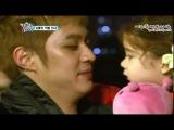 05.04.12 Прощальные поцелуи Сынхо и Лорен @ Hello Baby 5 сезон 12 эпизод [Отрывок]